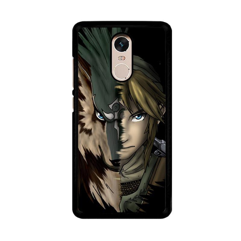 Flazzstore Zelda Link Wolf Triforce Z1233 Custom Casing for Xiaomi Redmi Note 4 or Note 4X Snapdragon Mediatek