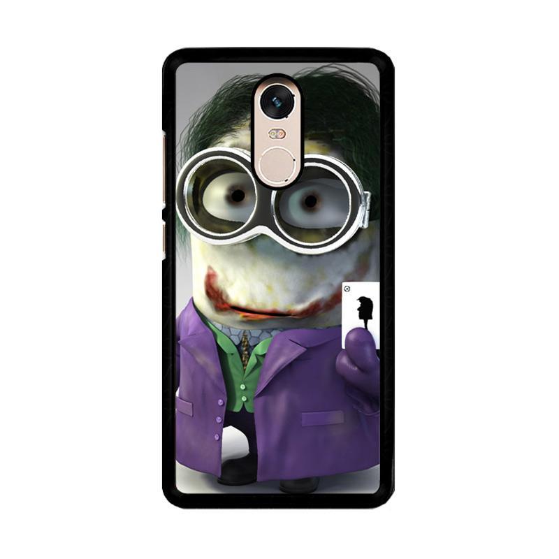 Flazzstore Minion Joker Z1425 Custom Casing for Xiaomi Redmi Note 4 or Note 4X Snapdragon Mediatek