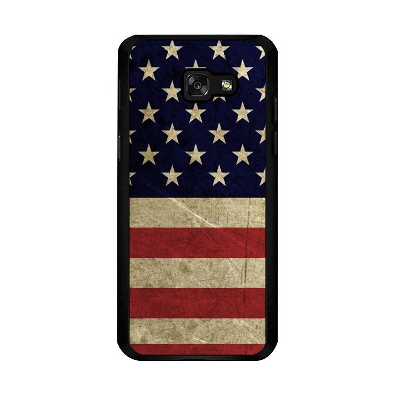 Flazzstore American Flag 3 O0232 Custom Casing for Samsung Galaxy A5 2017