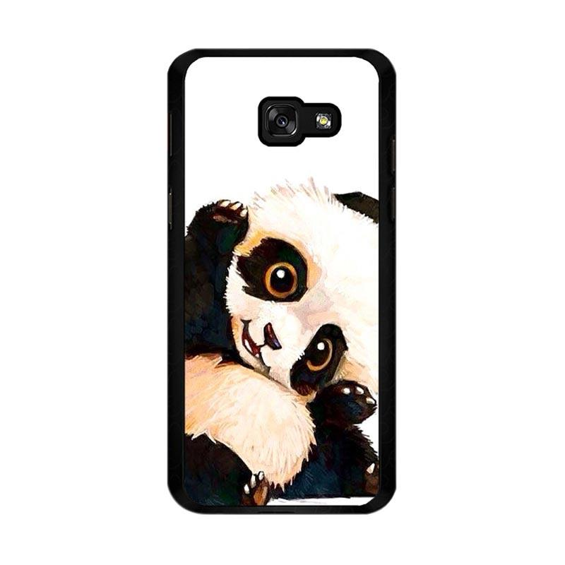 Flazzstore Panda Paint O0435 Custom Casing for Samsung Galaxy A5 2017