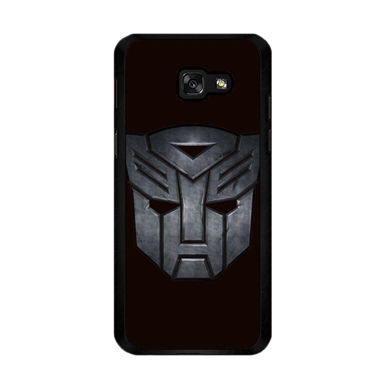 Flazzstore Transformers Autobots Icon Black F0242 Custom Casing for Samsung Galaxy A5 2017