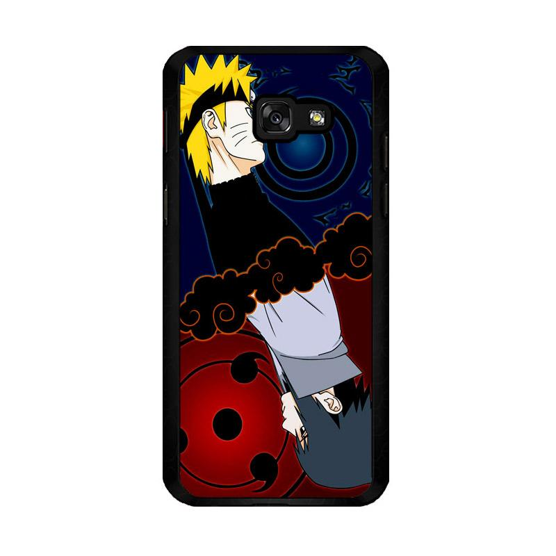 Flazzstore Naruto And Sasuke Z0739 Custom Casing for Samsung Galaxy A5 2017