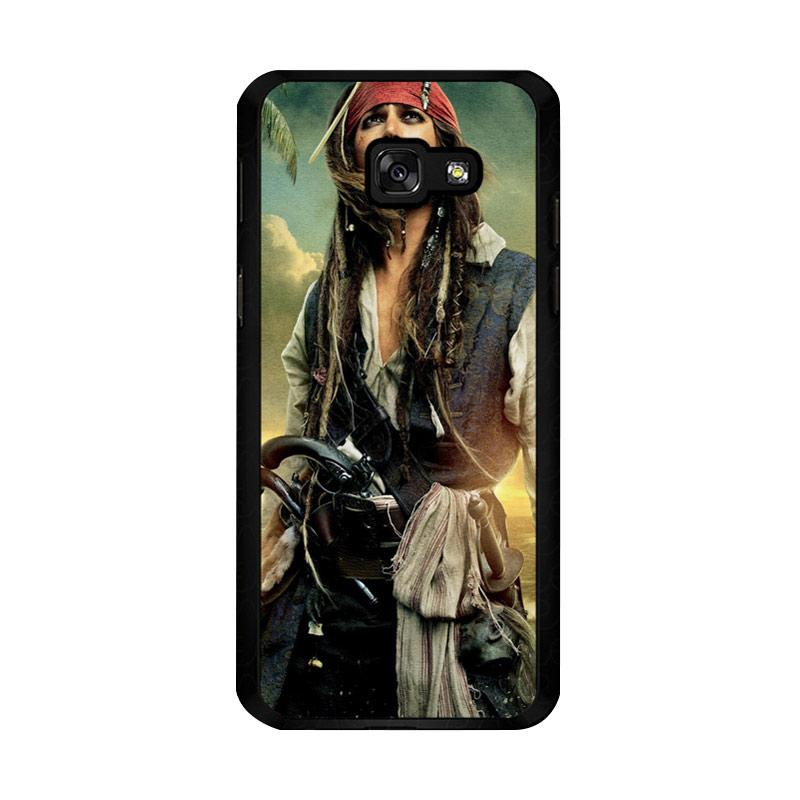 Flazzstore Captain Jack Sparrow F0344 Custom Casing for Samsung Galaxy A5 2017