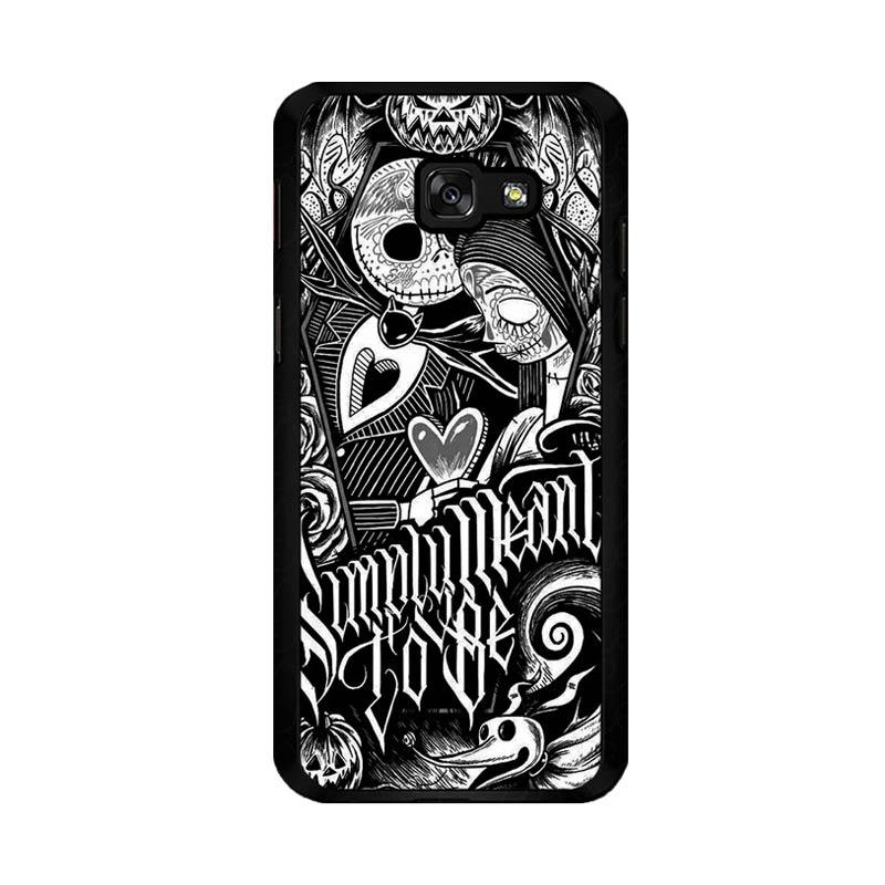 Flazzstore Jack And Sally Muertitos The Nightmare Before Christmas F0874 Custom Casing for Samsung Galaxy A5 2017