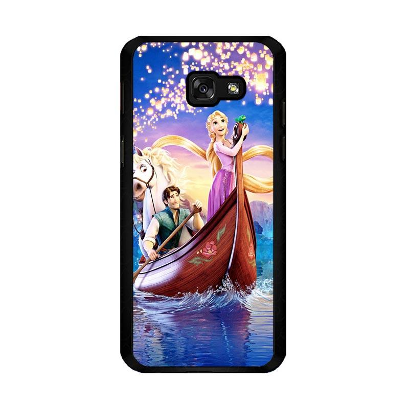 Flazzstore Disney Rapunzel Cover Book Z0075 Custom Casing for Samsung Galaxy A5 2017