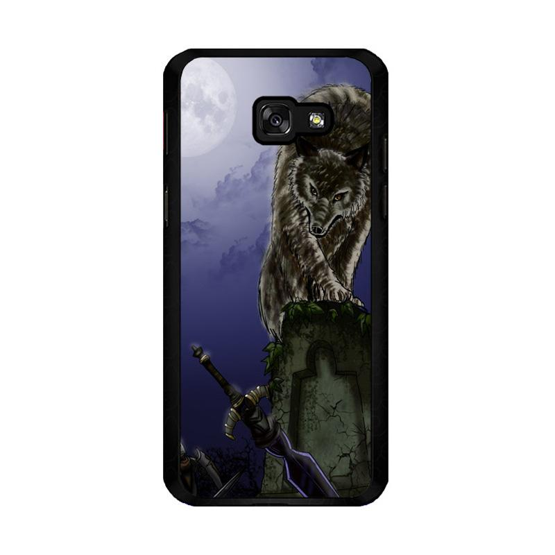 Flazzstore Great Grey Wolf Sif Puppy Z0311 Costum Casing for Samsung Galaxy A5 2017