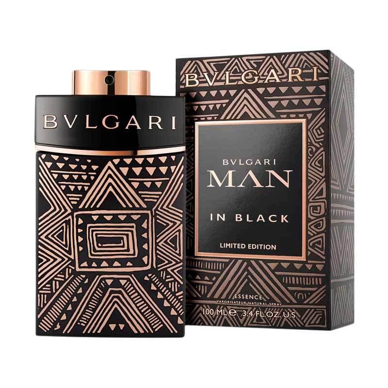 Bvlgari Man in Black Essence Limited Edition EDP Parfum Pria [100 mL]