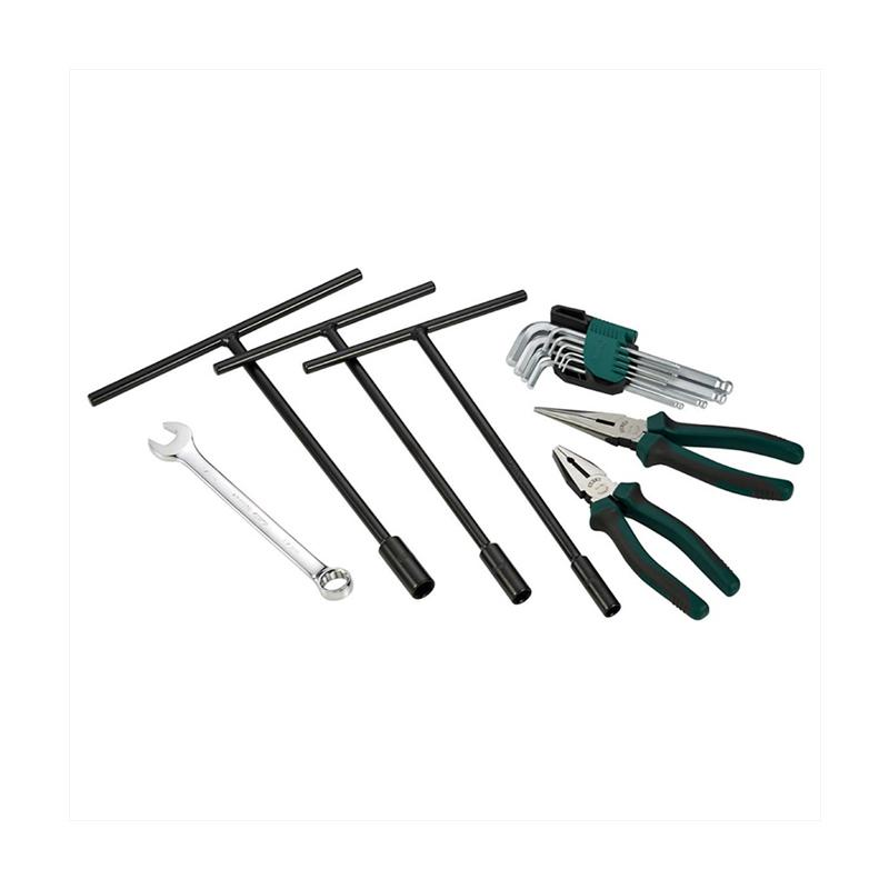 SATA 06004M Paket Ekonomis Tools Set Basic Repair Kit [15 pcs]