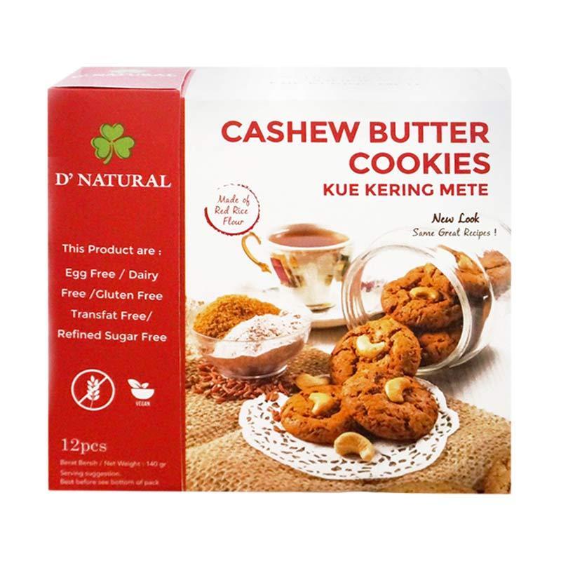 D'natural Gluten Free Cashew Butter Cookies