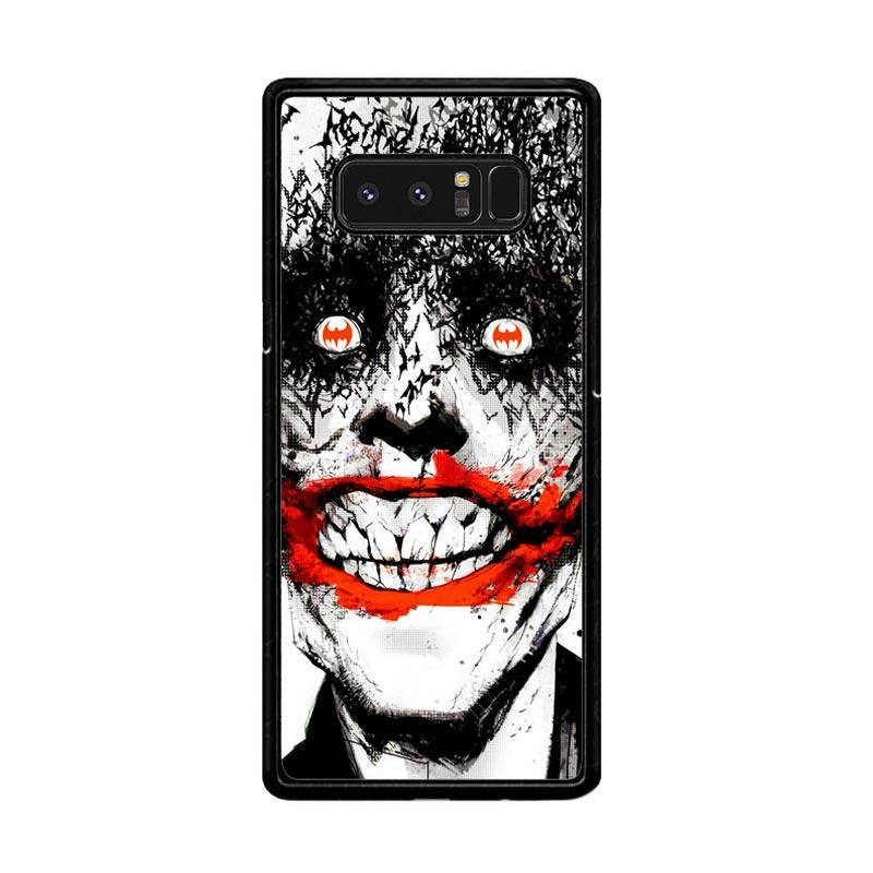 Flazzstore Creepy Smile Face Joker Z0981 Custom Casing for Samsung Galaxy Note8