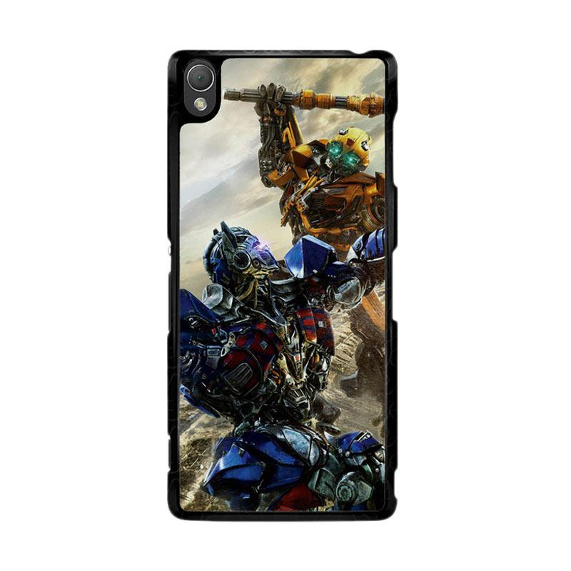Flazzstore Bumblebee Versus Optimus Prime O0744 Custom Casing for Sony Xperia Z3