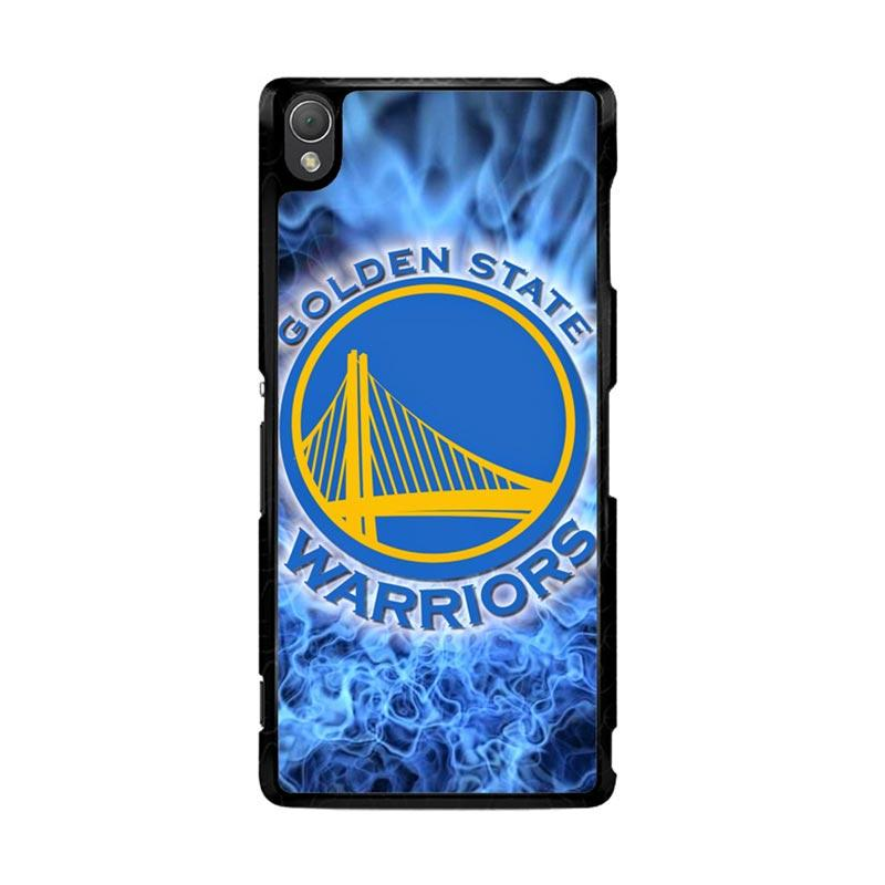 Flazzstore Golden State Warriors Logo O0767 Custom Casing for Sony Xperia Z3