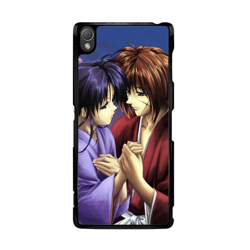 Flazzstore Samurai X Kenshin And Kaoru Z0701 Custom Casing for Sony Xperia Z3