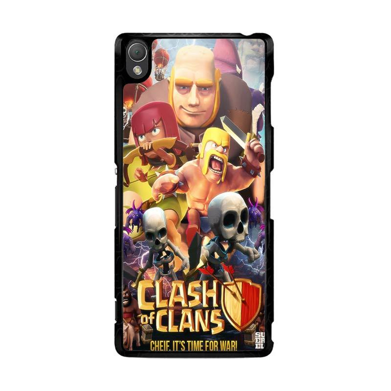 Flazzstore Clash Of Clans Movie Z0154 Custom Casing for Sony Xperia Z3