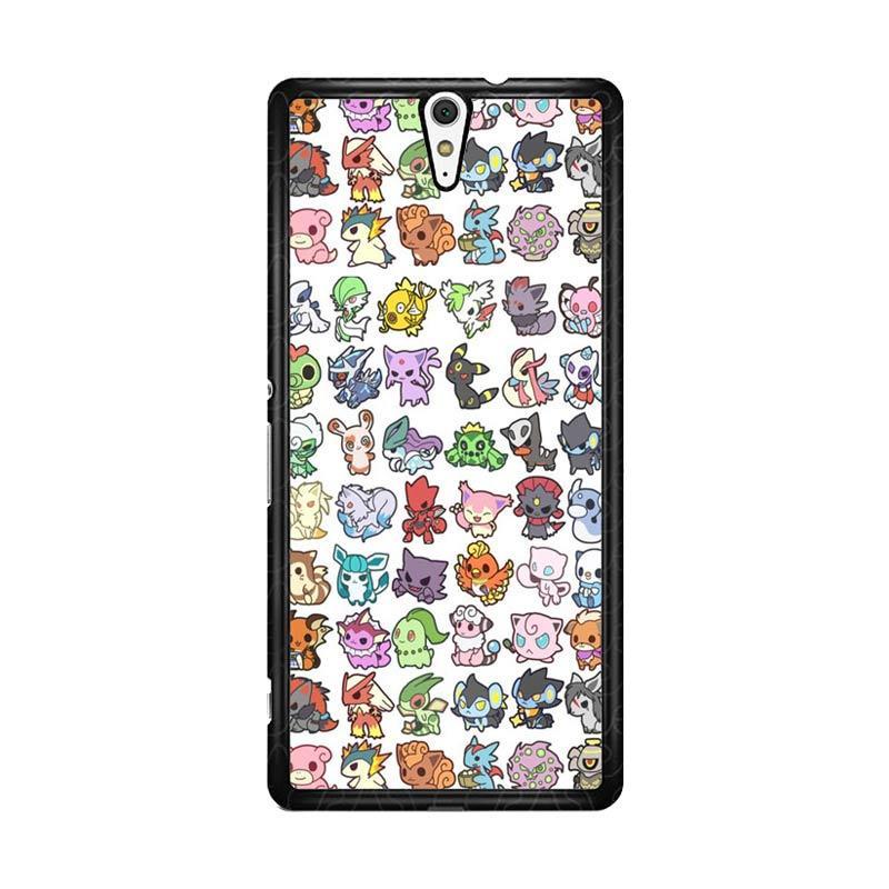 Flazzstore Pattern Pokemon O0061 Custom Casing for Sony Xperia C5 Ultra