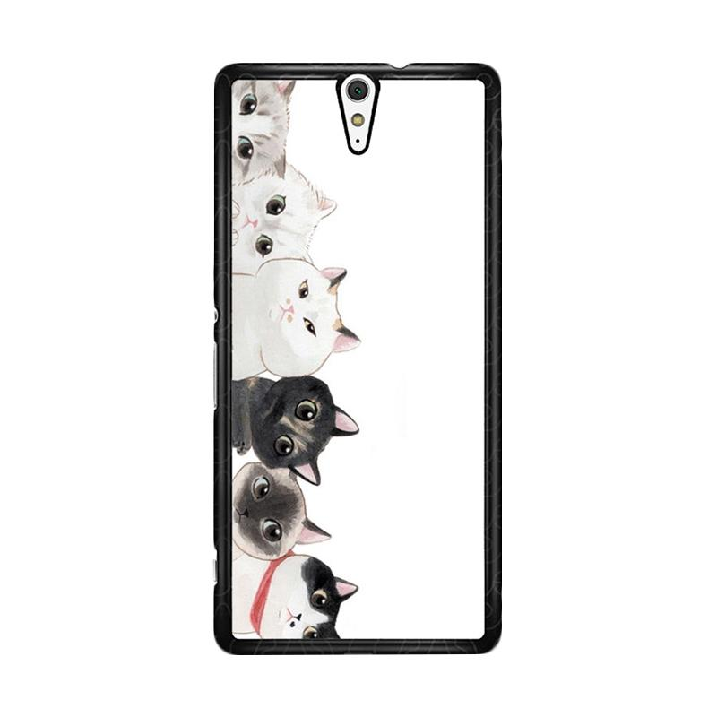 Flazzstore Cat Unity O0166 Custom Casing for Sony Xperia C5 Ultra