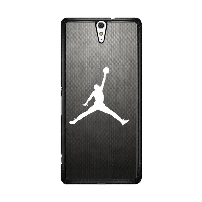 Flazzstore Air Jordan Black Texture O0621 Custom Casing for Sony Xperia C5 Ultra