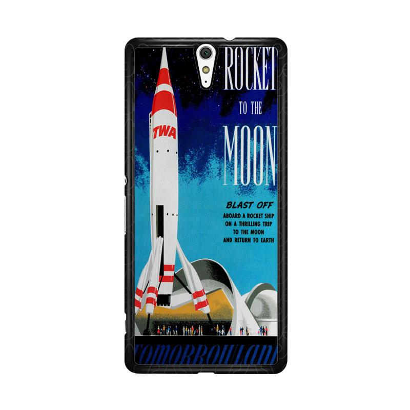 Flazzstore Disney Tomorrowland Rocket To The Moon Z0697 Custom Casing for Sony Xperia C5 Ultra