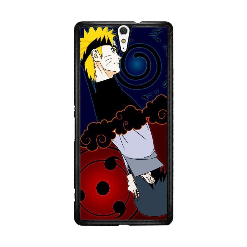 Flazzstore Naruto And Sasuke Z0739 Custom Casing for Sony Xperia C5 Ultra
