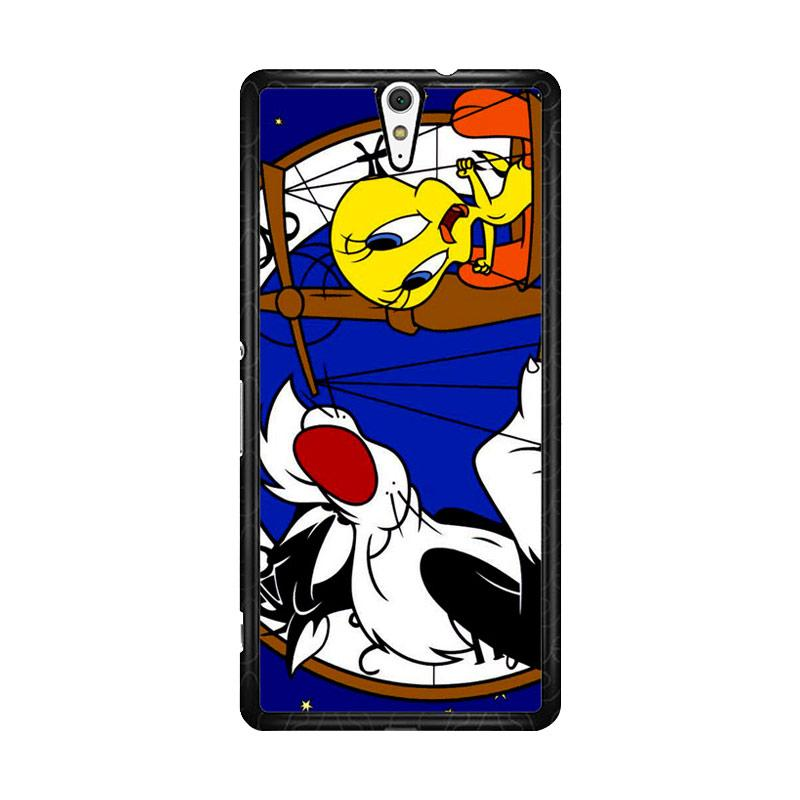 Flazzstore Tweety Bird And Sylvester Z0761 Custom Casing for Sony Xperia C5 Ultra