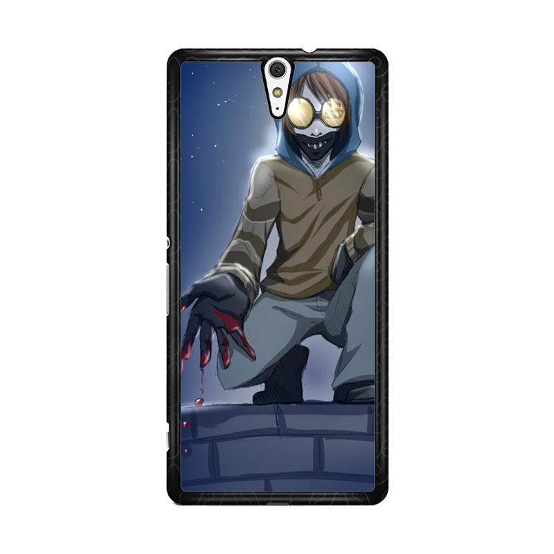 Flazzstore Creepypasta Ticci Toby F0384 Custom Casing for Sony Xperia C5 Ultra