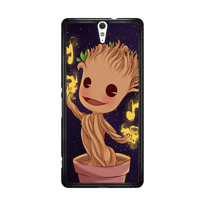 Flazzstore Groot Baby Z0022 Custom Casing for Sony Xperia C5 Ultra