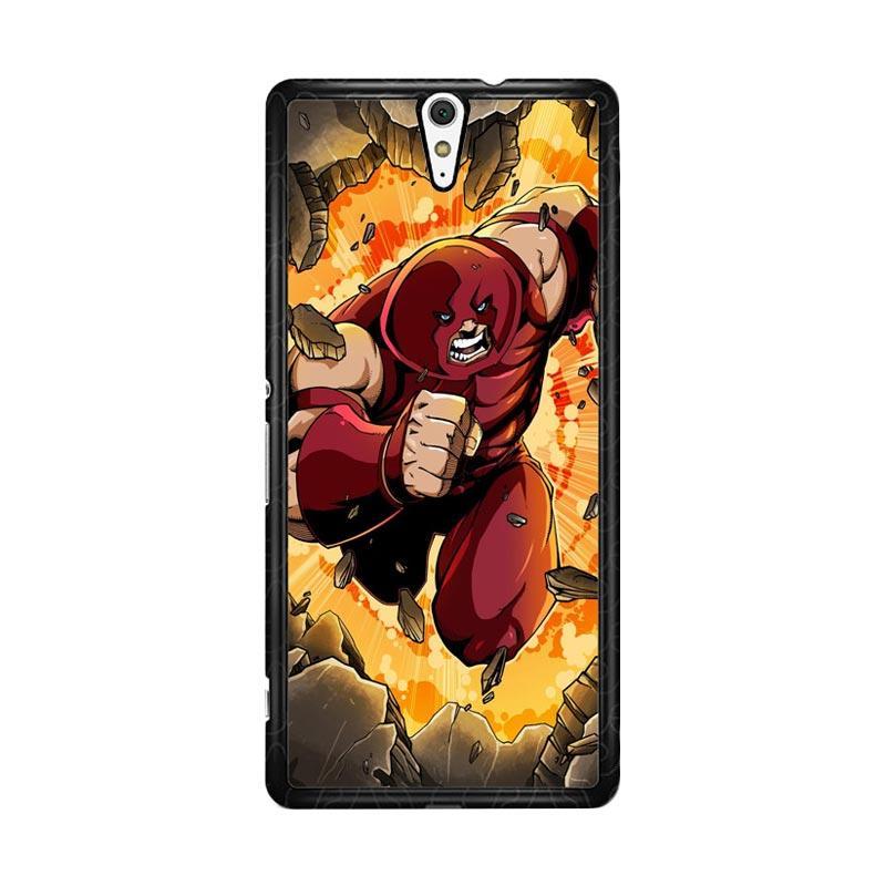 Flazzstore Comics Juggernaut Marvel Z0316 Custom Casing for Sony Xperia C5 Ultra