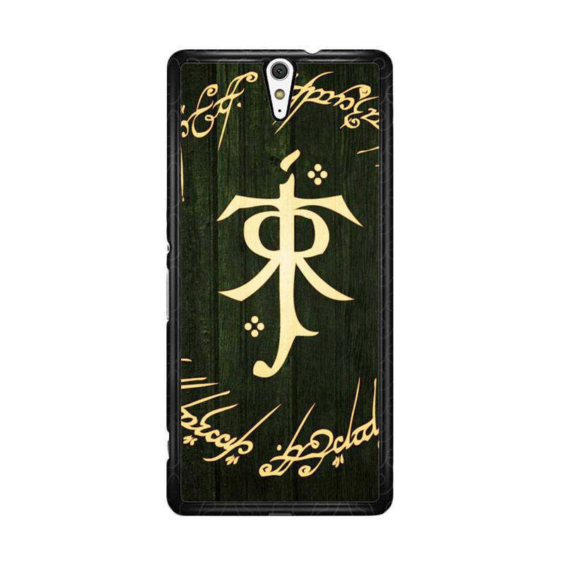 Flazzstore Lord Of The Ring Symbol Z1090 Custom Casing for Sony Xperia C5 Ultra