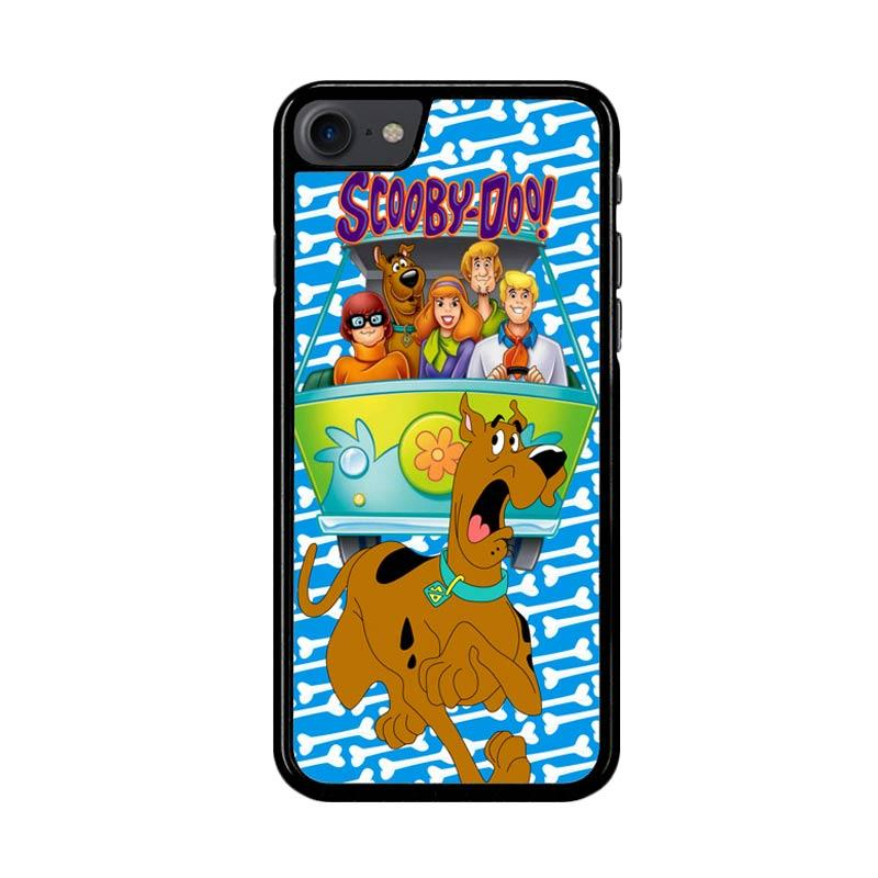 Flazzstore Scooby Doo Z2652 Custom Casing for iPhone 7 or 8