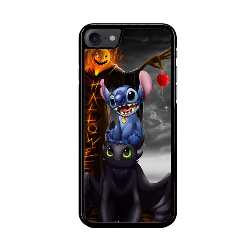 Flazzstore Stitch Toothless Dragon Z2587 Custom Casing for iPhone 7 or 8