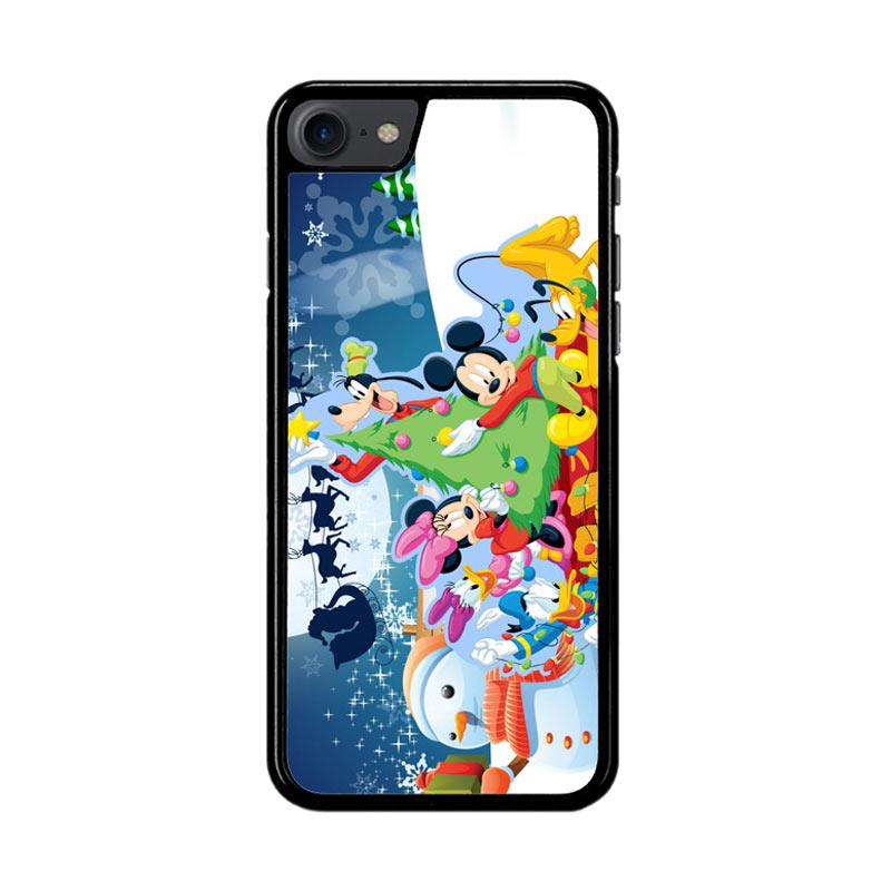 Flazzstore Mickey Mouse And Friends Christmas Z2695 Custom Casing for iPhone 7 or 8