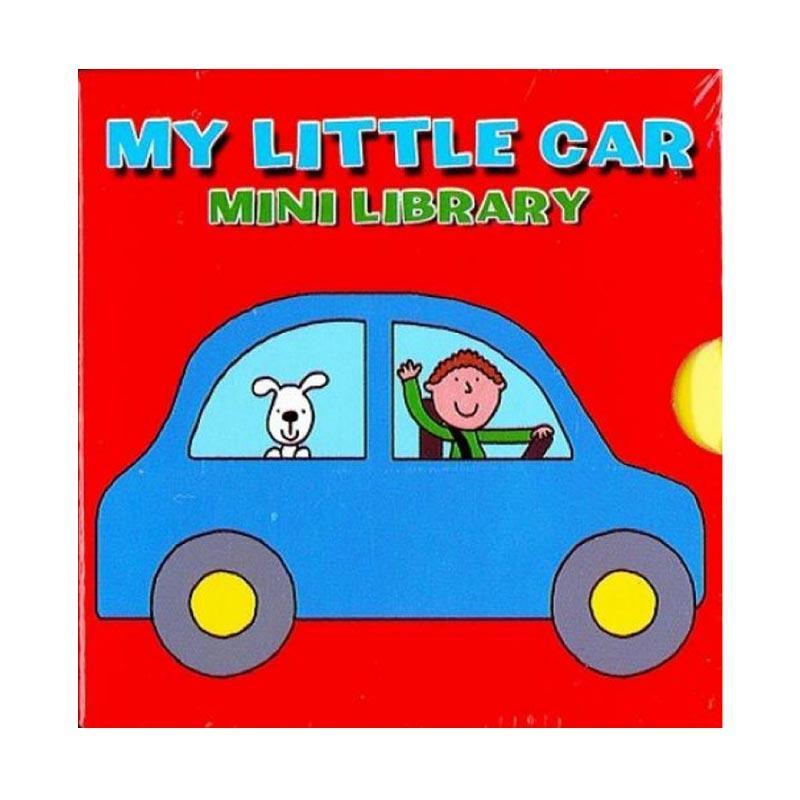 Genius 6in1 Board Book Set My Little Car Mini Library Buku Edukasi Anak