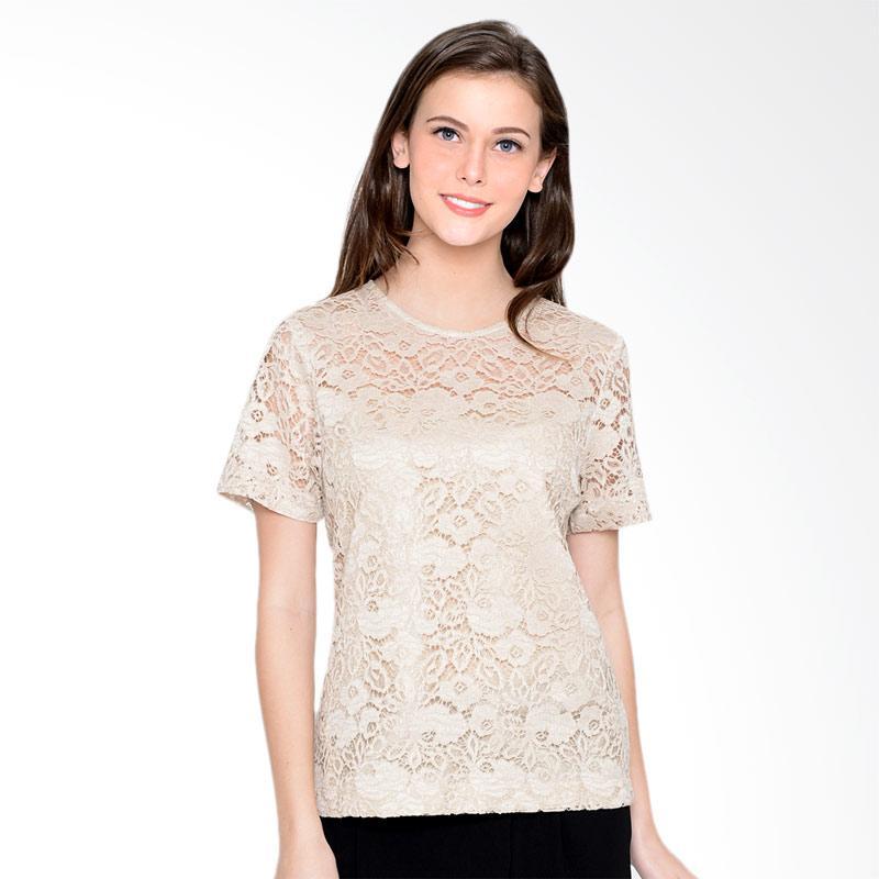 A&D Fashion Ms 1007 Ladies Blouse - Brown