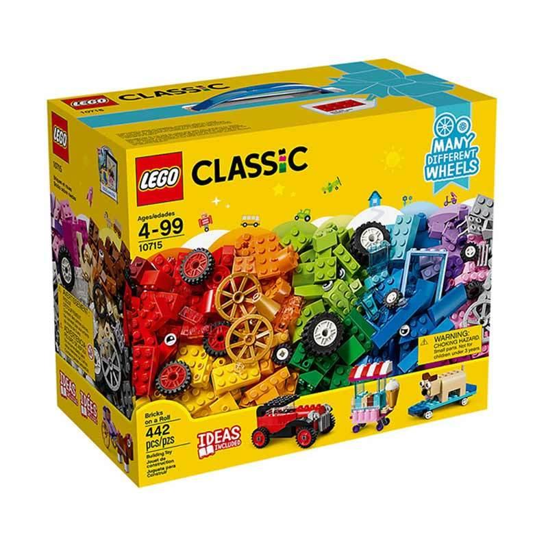 harga LEGO Classic 10715 Bricks on a Roll Blocks & Stacking Toys Blibli.com