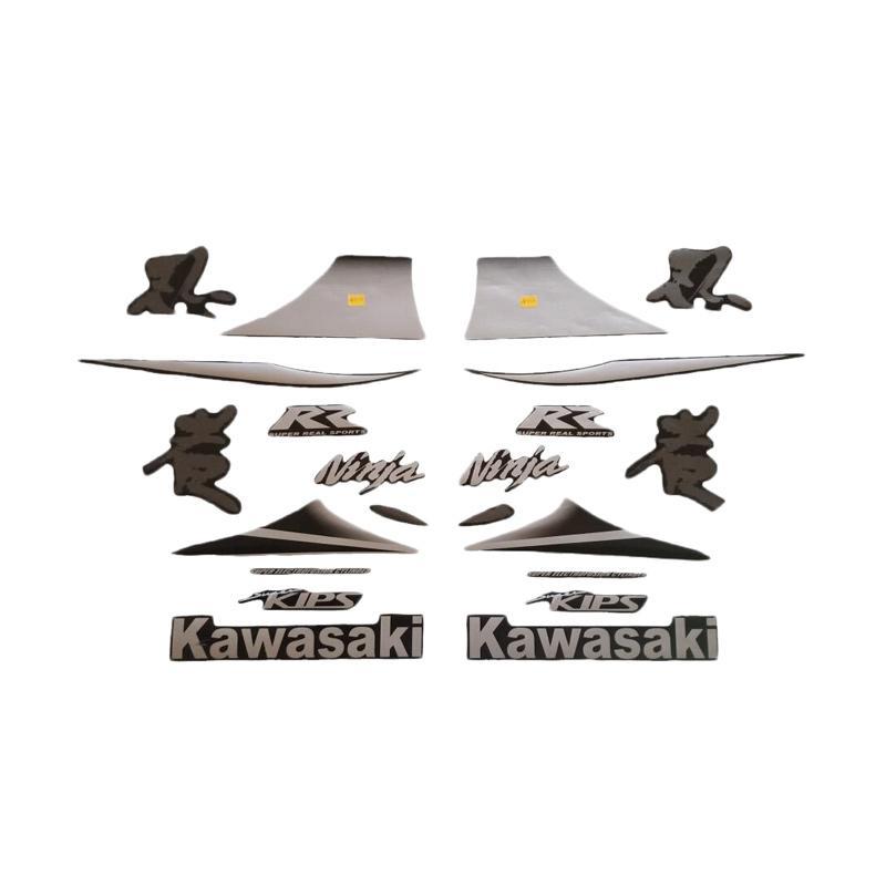 harga Idola Striping Striping Motor for Kawasaki Ninja RR 2010 - Hitam Silver Blibli.com