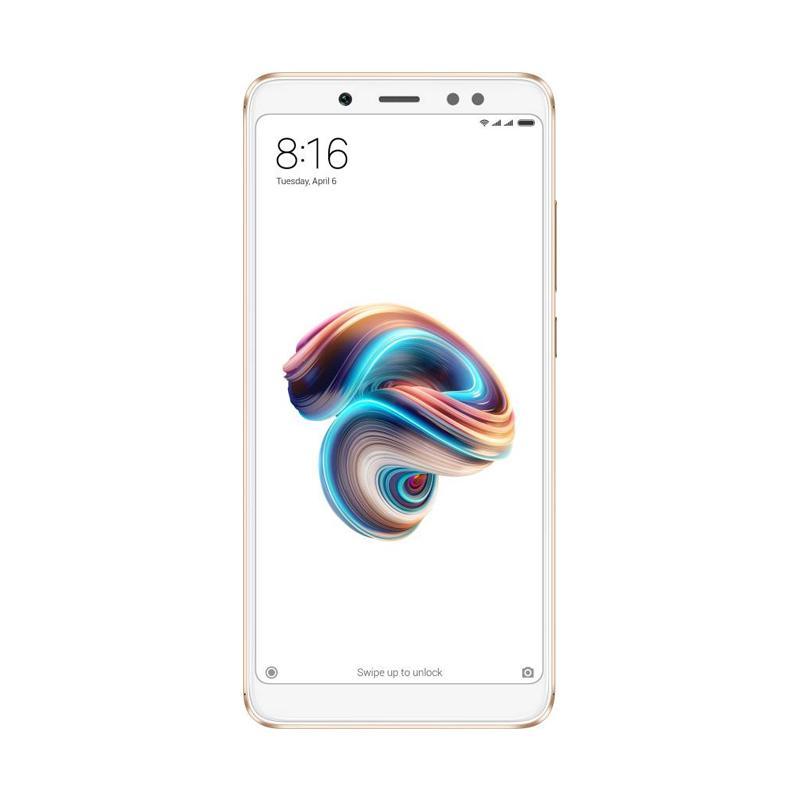 harga Xiaomi Redmi Note 5 Pro Smartphone - Gold [64GB/ 4GB] Blibli.com