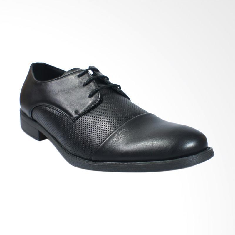 Ulasan Terbaru Jackson Fasa 1JK Sepatu Formal Pria - Black Dan Harganya