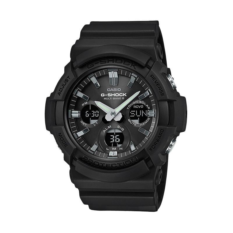 CASIO G-Shock Multiband Digital Analog Resin Strap Jam Tangan Pria - Black   6 GAW-100B-1AJF . Brand  CASIO 8347f2032d