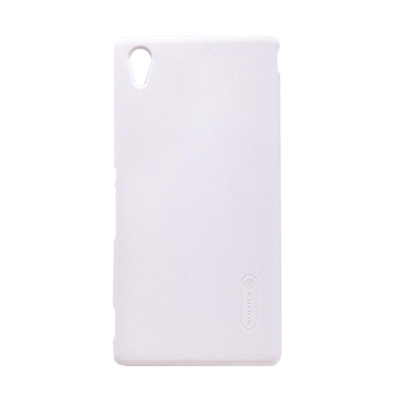 harga Nillkin Super Frosted Shield Hardcase Casing For Sony Xperia M4 Aqua - White Blibli.com