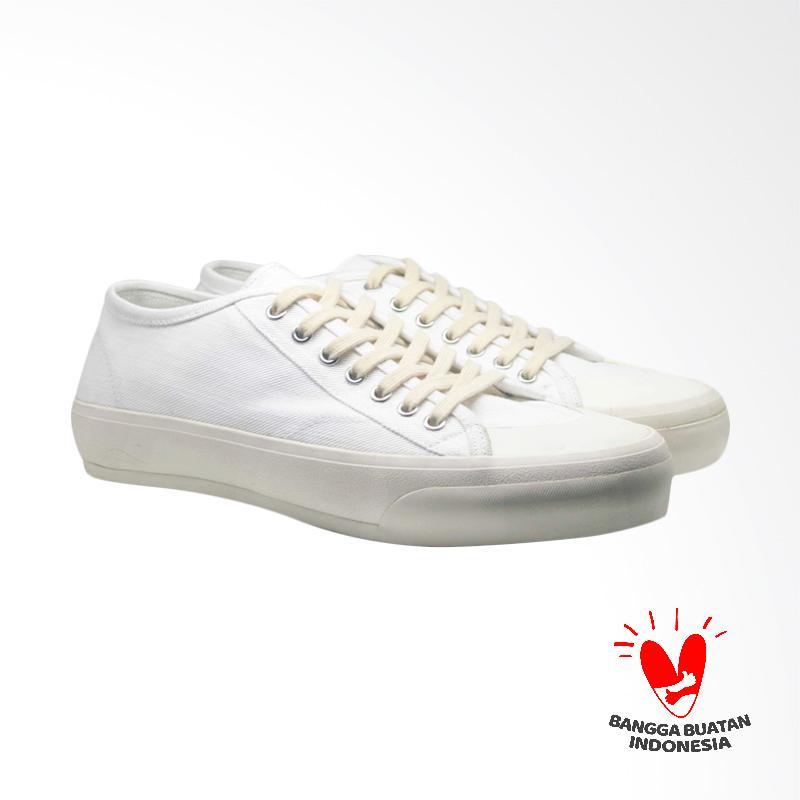 Pijak Bumi Sakka Sneaker Shoes Unisex White