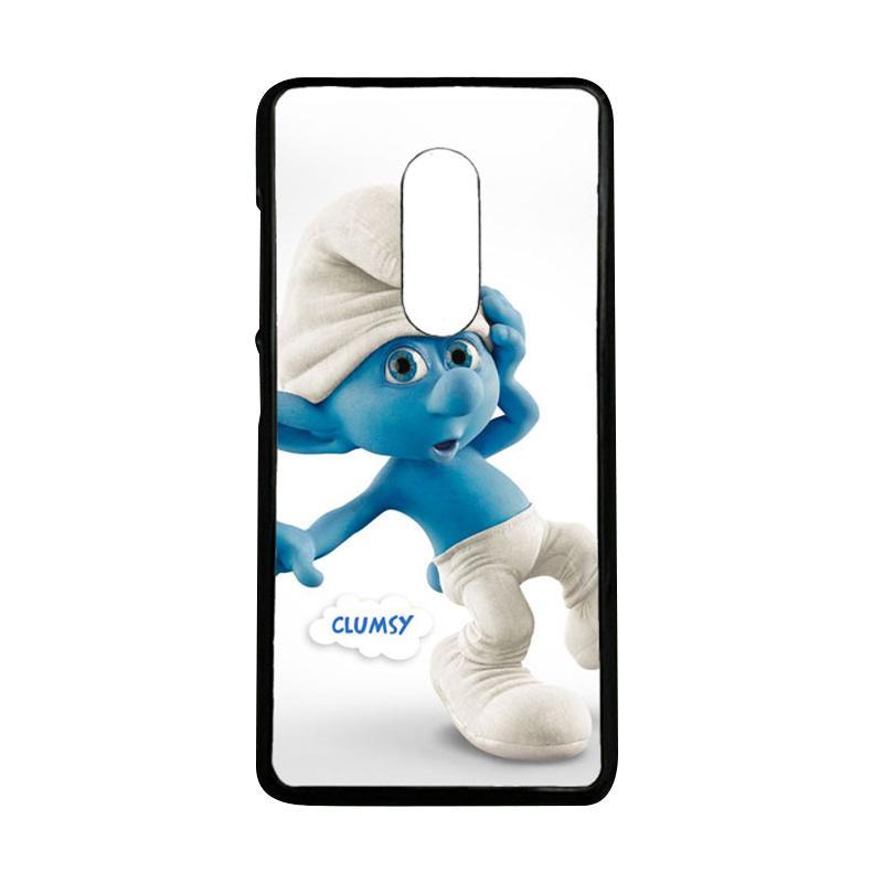 harga Cococase Clumsy The Smurfs O0674 Casing for Xiaomi Redmi Note 4 Blibli.com