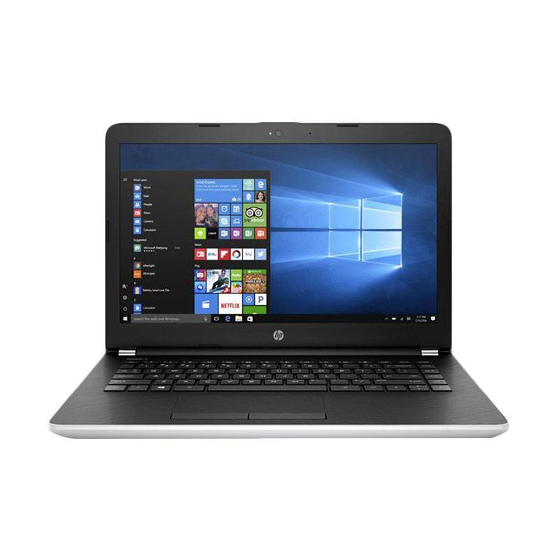 harga HP 14-BS010TU Notebook - Silver [Intel Celeron Series] Blibli.com