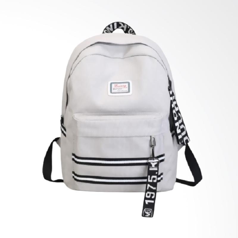 harga Sporty 0930070154 1975 Sporty Import Backpack - Gray Blibli.com
