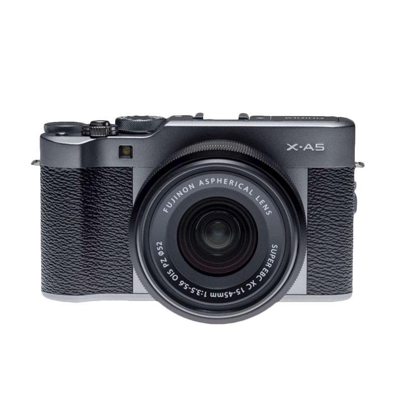 harga Fujifilm X-A5 Kit 15-45mm f/3.5-5.6 OIS PZ Kamera Mirrorless - Dark Silver + Sandisk Sd Ultra 16gb . Extra bonus Tas Sirui . XA5 . X A5 Blibli.com