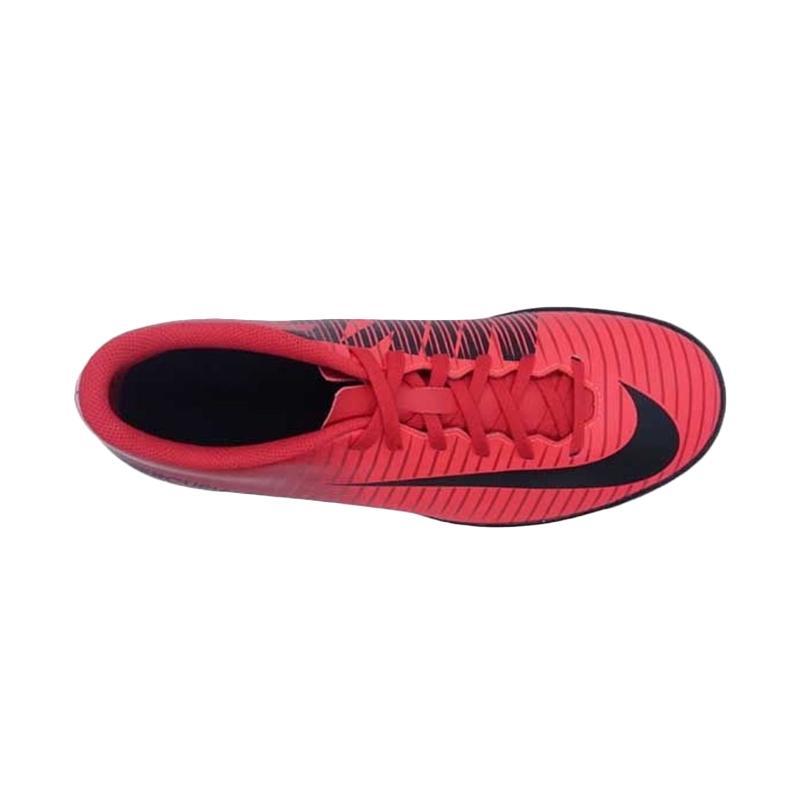 new product ed4ae 97d96 NIKE Mercurial X Vortex III IC Sepatu Futsal Pria - Red [Art#831970616/  Original]