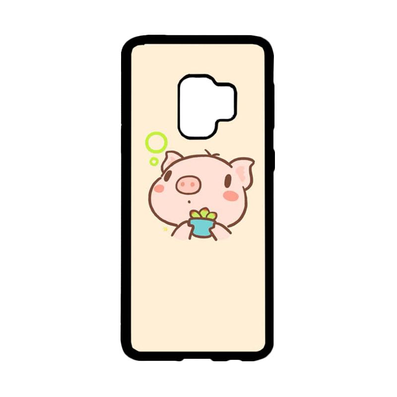 Bunnycase Yoo Piggy 2 L0301 Custom Hardcase Casing for Samsung Galaxy S9