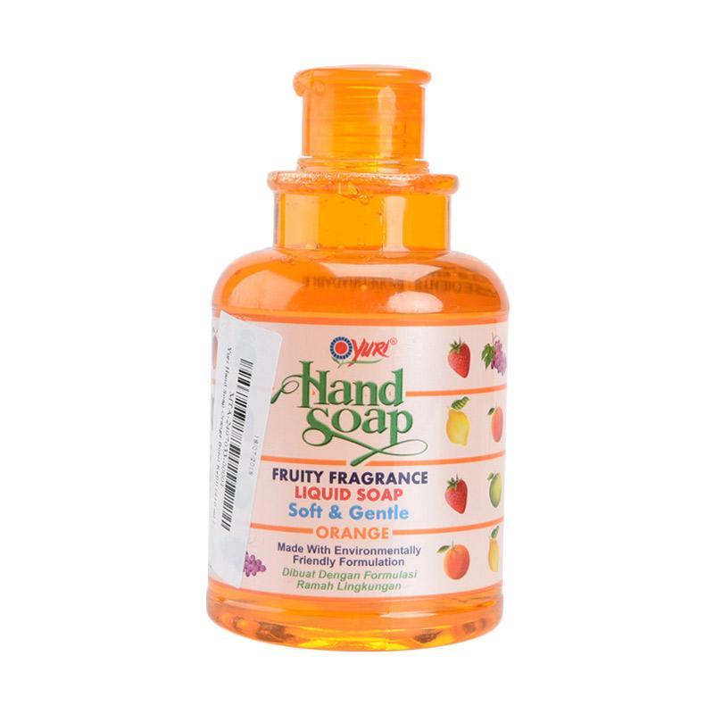 harga Groceries - Yuri Orange Hand Soap [Botol Refill/ 410 mL] Blibli.com