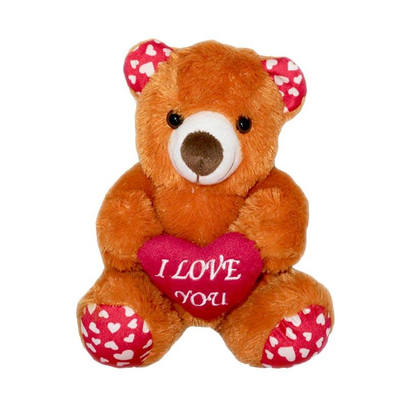 harga G3 Teddy Bear Love Brown Boneka [Size M] Blibli.com