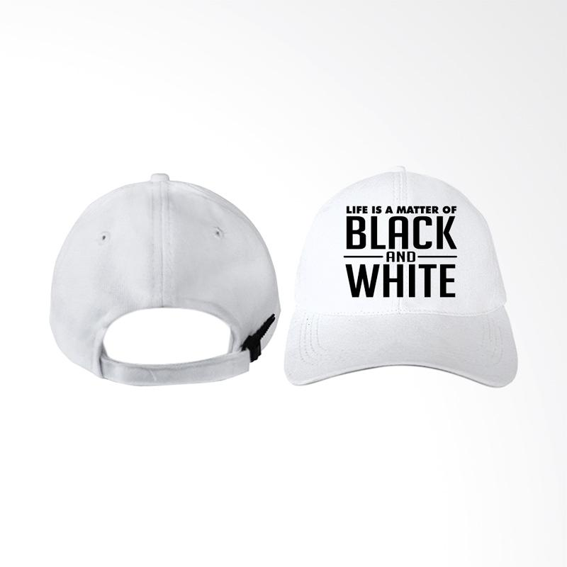 Jual IndoClothing Juventus Life is a Matter Of Black And White Topi Baseball Pria Terbaru Harga Promo September 2019 |