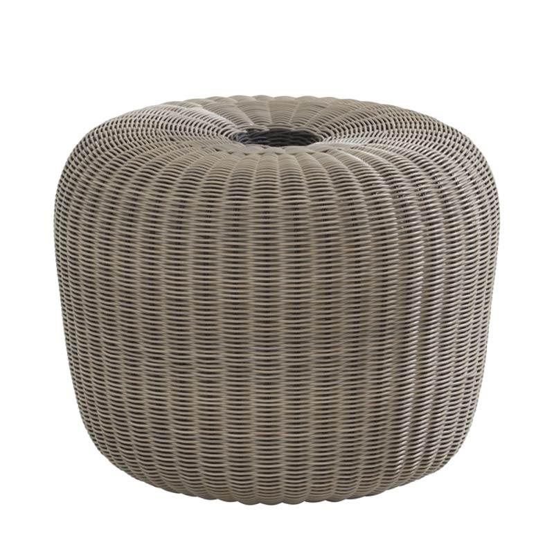 Pineapple Lifestyle Furniture Pumpkin Stool Grey